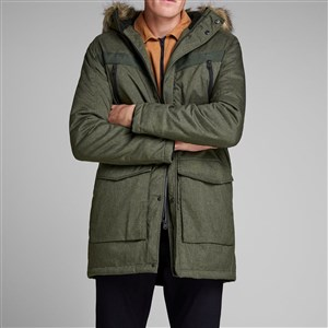 Jack Jones Parka Jcoearth